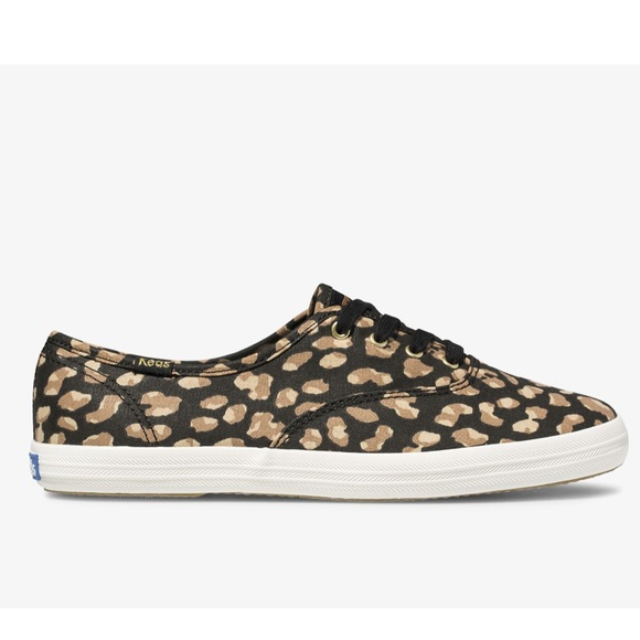 NWT Ked's Leopard Champion Sneakers